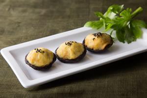 素食聰明吃電子報一O八期──【香菇藷餅】