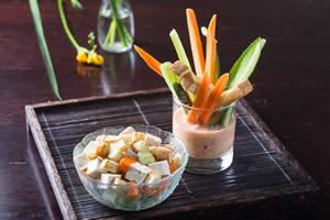 素食電子報第一一二期──【沙拉吐司棒】